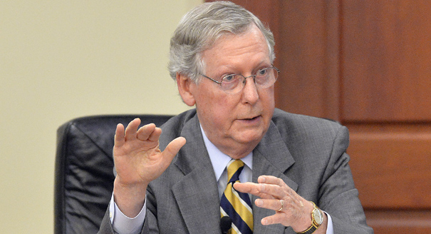 Mitch McConnell 'perplexed' by President Obama