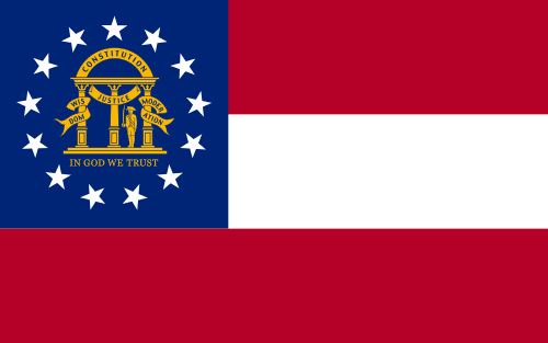 Georgia-Current-State-Flag