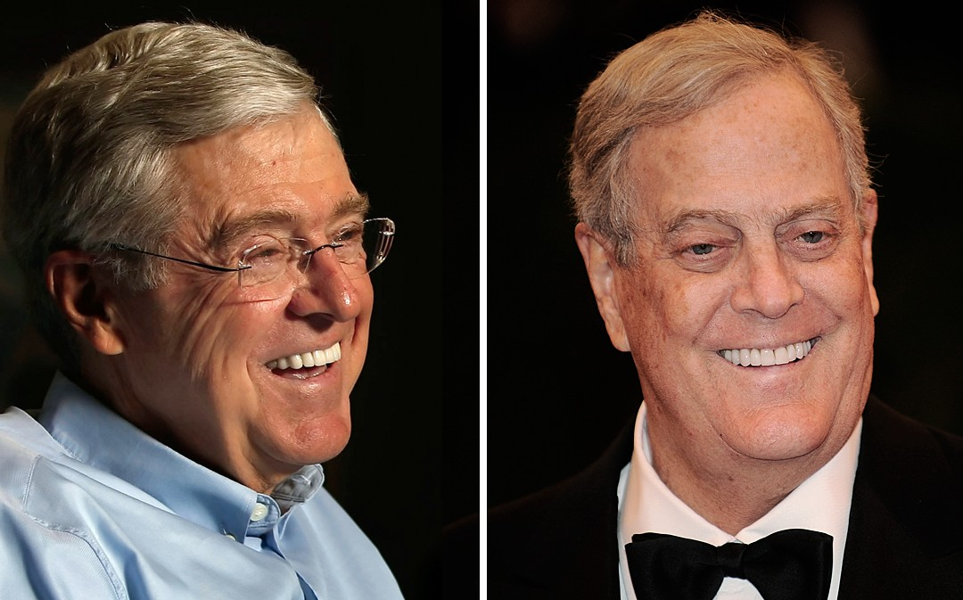 Koch Brothers Unlikely to Target Georgia in 2016