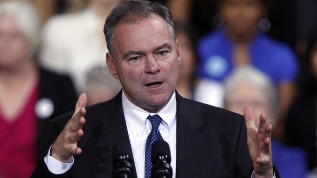 Kaine: Even Republicans don't trust Trump