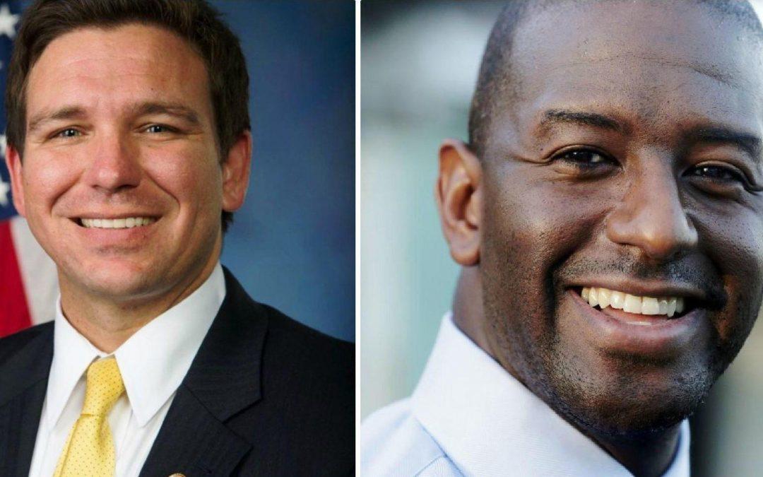 Gillum and DeSantis battle over FBI probe, racist attacks