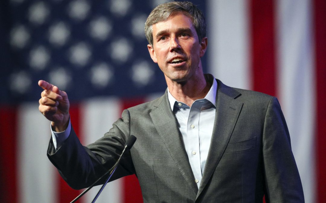 O'Rourke rails against 'unprecedented concentration of wealth and power' at kickoff rally